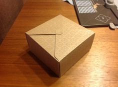 Doosje met Envelope Punch Board