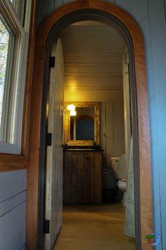 Archway Into The Bathroom