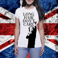 Harry Styles Long Hair Don't Care 1D One Direction Shirt! Super cute! Directioners take a look! by FanGirlsGraceland on Etsy https://www.etsy.com/listing/200528786/harry-styles-long-hair-dont-care-1d-one
