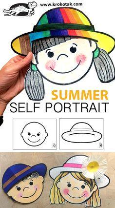 Summer Crafts For Toddlers, Fun Activities For Kids, Creative Activities, Art Activities, Toddler Crafts, Indoor Activities, Family Activities, Preschool Themes, Preschool Activities