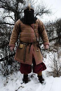 viking handcraft: Alternative zum Gambeson: Der Kampfkaftan