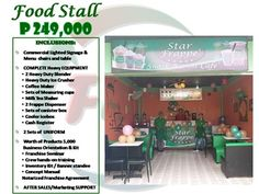 SimpleSite.com - Editing Food Cart Franchise, Food Stall, Frappe, Business Opportunities, Something To Do, Ph
