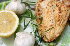 Garlic, lemon herb chicken breasts #sofabu #grillingishappiness