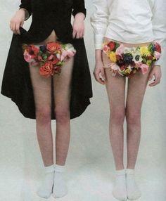 from Androgyny magazine # 4 photos : Louis Park Moda Fashion, Fashion Art, Fashion Design, Fashion Fotografie, Mein Style, Androgyny, Gianni Versace, Flower Fashion, Fashion Photography