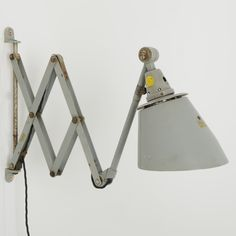 Trainspotters.co.uk German Midgard scissor wall light type 2