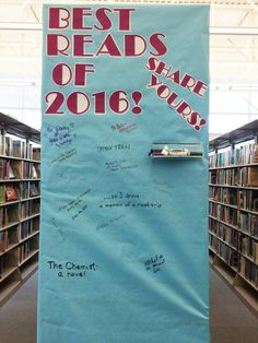 """""""Best Reads of 2016! Share Yours!"""" at Fairlawn"""