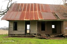 an abandoned house near Canton
