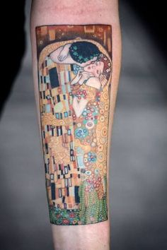 Image result for art nouveau tattoo