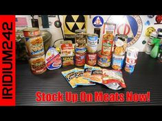 25 Different Types Of Canned Meat To Store! - YouTube Emergency Food Storage, Emergency Preparedness, Survival Gear, My Patriot Supply, Survival Videos, Canned Meat, Freeze Drying Food, Emergency Preparation, Home Canning