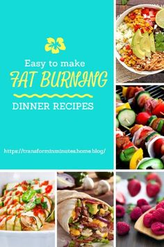 Easy Fat Burning Recipes Easy Fat Burning Recipes to help you burn more fat and feel more energized.