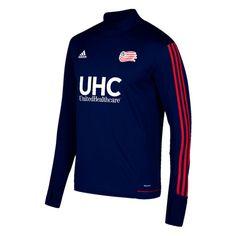 New England Revolution adidas 2017 Training Long Sleeve Jersey - Navy - Fanatics.com
