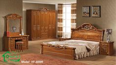 Solid Wood Bedroom Furniture For more pictures and design ideas, please visit my blog http://pesonashop.com