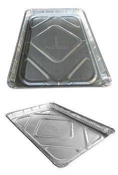 Handi-Foil of America Half-Size Sheet Cake Disposable Aluminum Foil Baking Pan Tray Tins - (Pack Aluminum Foil Pans, Sheet Cake Pan, Cake Pans, Griddle Pan, Tray Bakes, Cookware, Packing, Tins
