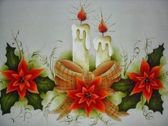 Christmas By Candlelight 🎄 Christmas Yard Art, Felt Christmas Decorations, Woodland Christmas, Christmas Candles, Retro Christmas, Christmas Time, Christmas Crafts, Christmas Ornaments, Christmas Greeting Cards