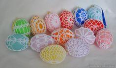 Crochet egg - velikonoční vajíčka háčkovaná   ..........  ...................   ........PLASTICNA JAJA   ..........