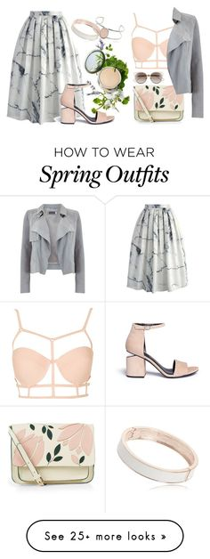 """""""Spring #6"""" by tovv on Polyvore featuring Topshop, Chicwish, Accessorize, Mint Velvet, Origins, Christian Dior, Alexander Wang, StreetStyle, Spring and party"""