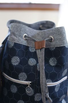 Zip Top Tote + Bucket Bag patterns from Handmade Style by Anna Graham
