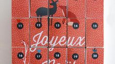 DIY : CALENDRIER DE L'AVENT 2013 Calendrier Diy, 2013, Xmas, Christmas, Advent Calendar, Magic, Holiday Decor, Yearly, Christmas Arts And Crafts