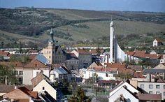 My birth town, Hustopece u Brna, in Czech Republic