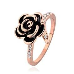 #EricDress - #EricDress Charming Flower Decorated Ring - AdoreWe.com