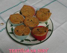 Muffins de manteiga de amendoim e chocolate negro http://tertuliadasusy.blogspot.pt/2013/04/muffins-de-manteiga-de-amendoim-e.html