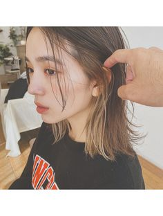 【Violet】インナーカラーがオシャレ可愛い♪:L049793852|バイオレット 栄店(Violet)のヘアカタログ|ホットペッパービューティー Hidden Hair Color, Two Color Hair, Hair Color Streaks, Hair Color Balayage, Blonde Underneath, Hair Color Underneath, Dyed Blonde Hair, Brown Blonde Hair, Dip Dyed Hair