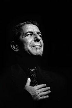 Léonard Cohen, Paris 1993 (1) - by Claude Gassian