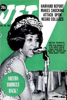 Jet Magazine, April 20, 1967 — Aretha Franklin