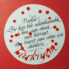 #nazimhikmet#nazimhikmetran#vatan#ask#kaligrafi#calligraphy#art#design#red#white#typography#tipografi#kafkaokur#turkiye#turkey#bayrak#art