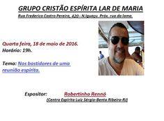Grupo Cristão Espírita Lar de Maria Convida para a sua Palestra Pública - Nova Iguaçu - RJ - http://www.agendaespiritabrasil.com.br/2016/05/18/grupo-cristao-espirita-lar-de-maria-convida-para-sua-palestra-publica-nova-iguacu-rj-3/
