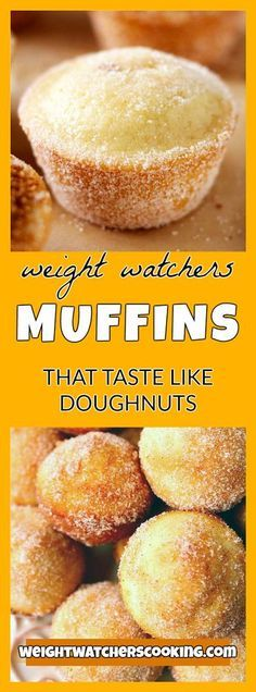 MUFFINS THAT TASTE LIKE DOUGHNUTS RECIPE | weight watchers cooking