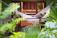 Room with a Hammock at Silky Oaks Lodge, The Daintree