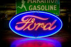 Gorgeous Ford Neon Sign!