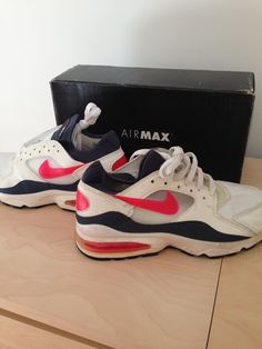 new concept a2757 21c24 FORSALE vintage 1993 nike nikeair airmax 93 deadstock vintage new  boxed US10 for display never worn