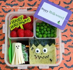 Frankenstein Halloween Bento Lunch