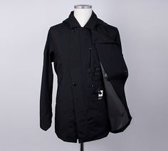 Stealth Trench Coat – Stone Island's Shadow Project