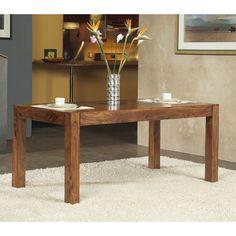 Modus Genus Solid Wood Dining Table - Honey   from hayneedle.com