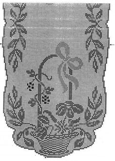 1 million+ Stunning Free Images to Use Anywhere Filet Crochet, Crochet Chart, Thread Crochet, Crochet Motif, Crochet Doilies, Crochet Stitches, Knit Crochet, Crochet Table Runner, Crochet Tablecloth