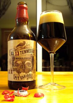 Tennessee N.13 - Pit Caribou #craftbeer #microbrasserie #barrelaged #porter #imperial #bière
