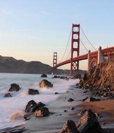 Iconic Bridges Sf Package: Zoe Pappas Seascape, San Francisco, Golden Gate, Landscape photography @creativemarket