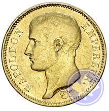 40 francs 1807A  conservation: prttb