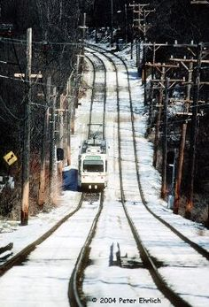 Loved taking the streetcar from Mt. Lebanon to Pittsburgh with my grandmother. She'd take us to Kaufmann's and then a grilled cheese at a lunch counter. (A lovely memory from another pinner) Places In Usa, Best Places To Live, Great Places, Beautiful Places, Mount Lebanon, Winter Wonder, Short Trip, Pittsburgh Steelers, Abandoned Places