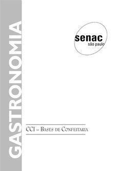 Apostila do SENAC - Bases de Confeitaria