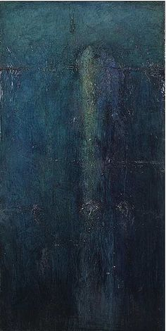 Christopher Cousins . mixed media on canvas. 72 x 36 -- one of my favorite pieces