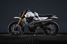 The latest Yamaha Yard Built custom: A retro-futuristic XSR700 from Bunker Custom Cycles. - Bike EXIF