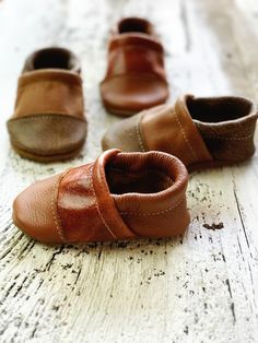 Two-Tone Loafer Baby and Toddler Shoes(Lodge/Tribe, Sienna/Cinnamon – Starry Knight Design