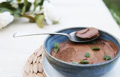 Peppermint-Choc Mousse - The Whole Daily