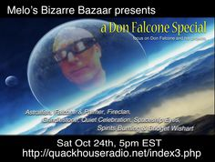A music special on Don Falcone & his many musical collaborations airs Saturday 2pm PT on Melo's Bizarre Bazaar.