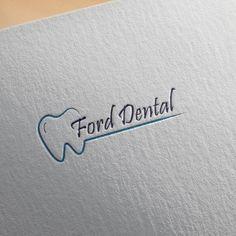 Dental Logo design by Sharmi Dental Clinic Logo, Dentist Logo, Pizza Logo, Yoga Logo, Minimal Logo, Fitness Logo, Logo Google, Teeth Art, Logo Inspiration