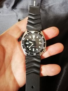 Vintage Seiko Watches, Rolex Watches, Sea Diving, Seiko Diver, Damascus Steel, Vintage Shops, My Etsy Shop, Jewelry Making, Band